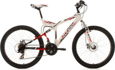 Mountainbike Fully 26 Zoll Zodiac mech. Scheibenbremsen