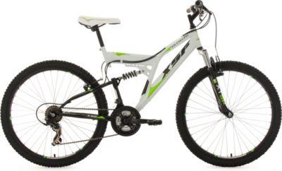 26 Zoll Fully Mountainbike XSF weiß-grün