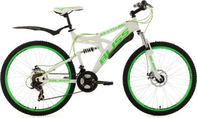 KS Cycling Fully Mountainbike Bliss 26 Zoll wei...