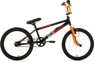 BMX Freestyle 20´´ Circles schwarz-orange