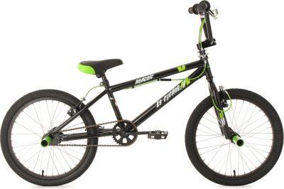 20 Zoll Freestyle BMX Hedonic Schwarz-Grün