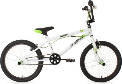20 Zoll Freestyle BMX Hedonic Weiß-Grün