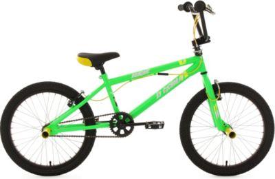 20 Zoll Freestyle BMX Hedonic grün-gelb