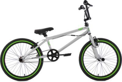 Freestyle BMX 20 Zoll CRXX silber-grün
