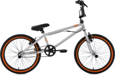 Freestyle BMX 20 Zoll CRXX silber-orange
