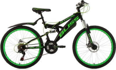 Jugendfahrrad Mountainbike Fully 24´´ Bliss