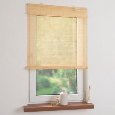 Rollo Bambus mit Seitenzug, Bambusrollo für Fenster und Tür