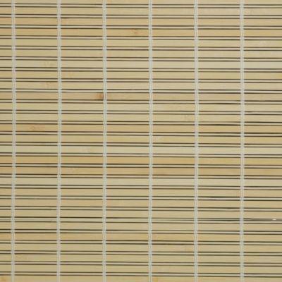 Liedeco Rollo Holz mit Seitenzug, Holzrollo für Fenster und Tür