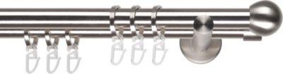 Liedeco Gardinenstange Kugel, 20 mm Stilgarnitur bei Plus Online Shop