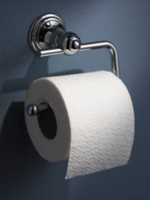 Toilettenpapierhalter, WC-Rollenhalter, Allure verchromt