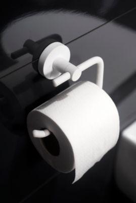Toilettenpapierhalter, WC-Rollen-Halter - Kosmos weiß