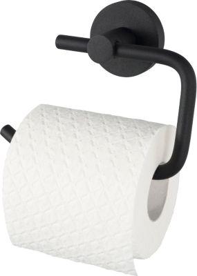 Toilettenpapierhalter, WC-Rollen-Halter - Kosmos schwarz