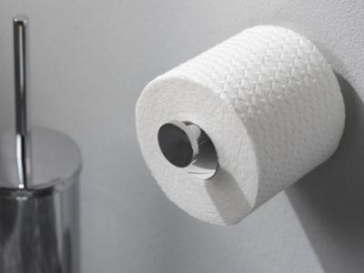 Toilettenpapierhalter, Reserverollenhalter, WC-Rollen-Halter - Kosmos chrom
