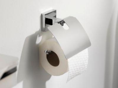 Haceka Toilettenpapierhalter mit Deckel, WC-Rol...