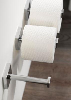 Toilettenpapierhalter, Reserverollenhalter, WC-Rollen-Halter - Mezzo chrom