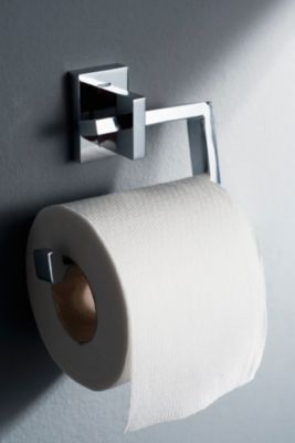 Toilettenpapierhalter, WC-Rollenhalter Edge, verchromt