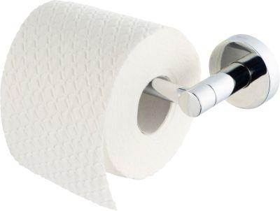 Toilettenpapierhalter, WC-Rollen-Halter fest - Kosmos chrom