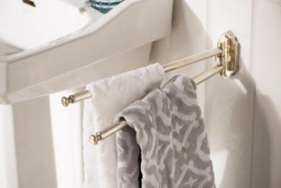 Haceka Nostalgischer Handtuchhalter schwenkbar - silber - Vintage | Bad > Bad-Accessoires > Handtuchhalter | Haceka