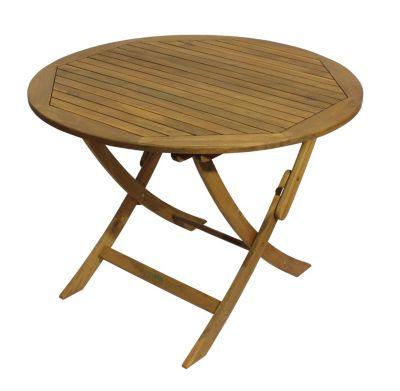 preisvergleich eu akazien tisch rund. Black Bedroom Furniture Sets. Home Design Ideas