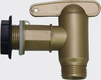 Graf Garantia Kunststoff-Auslaufhahn-Set Aqua Quick