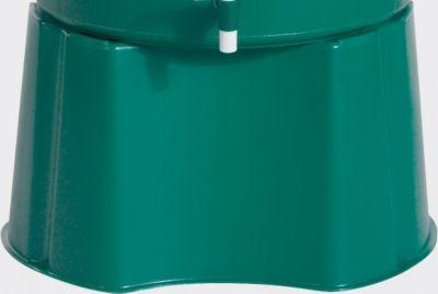 Graf Garantia Unterstand für Regentonne rund 310 l Grün