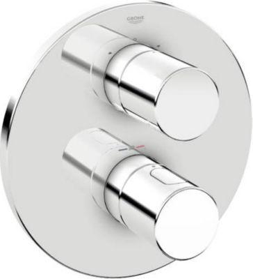 Thermostat GROHTHERM 3000 C für Wanne oder Dusche mit mehr als 1 Brause chrom 19468000