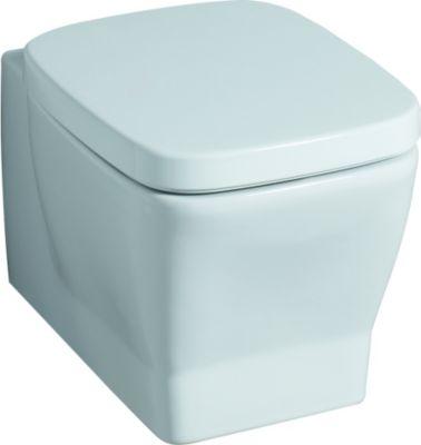 Keramag WC-Sitz SILK mit Deckel weiß