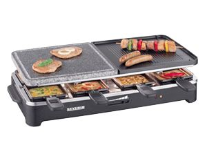 Raclette-Grill mit Naturgrillstein RG 2341