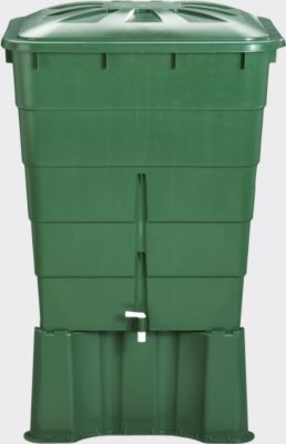 Graf  Regentonne eckig 203 L, grün