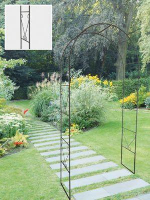 rosenbogen mit einer oder zwei kletterrosen bepflanzen garten. Black Bedroom Furniture Sets. Home Design Ideas