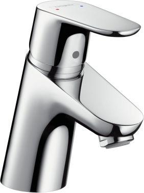 Hansgrohe HG Einhebel-Waschtischmischer FOCUS 70 DN 15 mit Push-Open Ablaufgarnitur chrom - 31604000