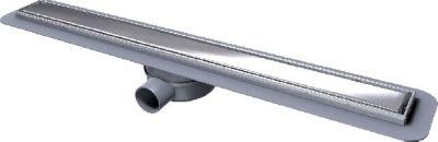 Kessel Duschrinne Linearis Compact DN 50, seitlicher Auslauf 750mm