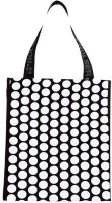 Rolser Shopping Bag SCHWARZ / WEIß