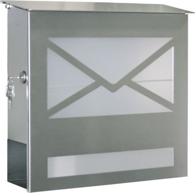 Briefkasten 43809-072 mit Acrylglasscheibe