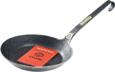 Turk Schmiedeeisenpfanne mit flachem Hakenstiel | Küche und Esszimmer > Kochen und Backen > Pfannen | Turk