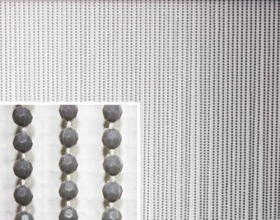 BREMA Brema Perlenvorhang Kunststoff grau 200x100cm