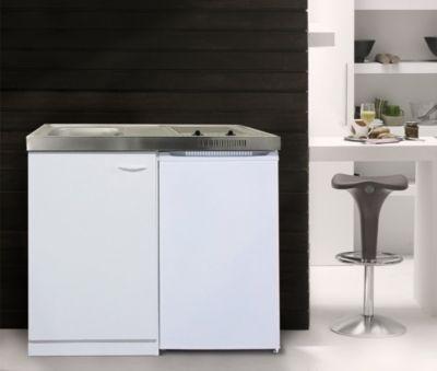 Im Plus.de Online Shop zu haben: Respekta Miniküche MK 100WC - Spülbecken links