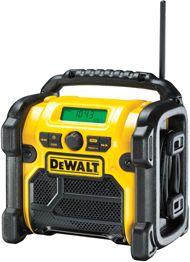 DeWalt Akku-und Netz Radio DCR019, Baustellenradio