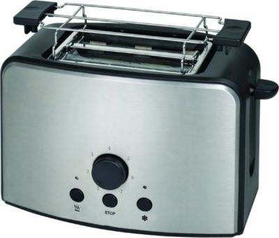 Edelstahl-Toaster
