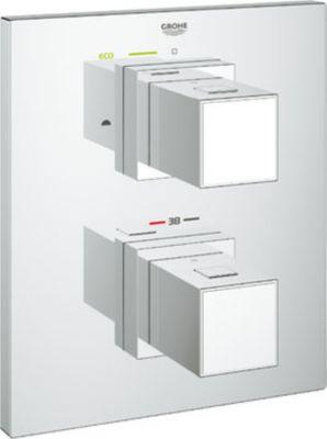 Thermostat GROHTHERM CUBE für Wanne oder Dusche mit mehr als 1 Brause chrom 19958000