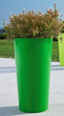 Euro3Plast  Pflanzkübel TUIT Ø40xH75 cm grasgrün