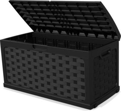 Starplast Kissenbox ´´Jumbo´´, anthrazit | Garten > Gartenmöbel > Aufbewahrung | Rattan | Starplast