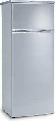 Doppeltür-Kühlschrank KS9793 Silber