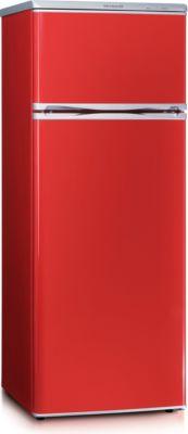 Doppeltür-Kühlschrank KS 9795 Rot