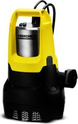 Kärcher Entwässerungspumpe SP 7 Dirt Inox , Tauch- / Druckpumpe