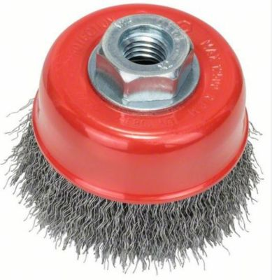 Bosch Topfbürste gewellter Draht 70 mm M14 2608622098