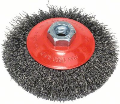 Bosch Kegelbürste gewellter Draht 115 mm M14 2608622101