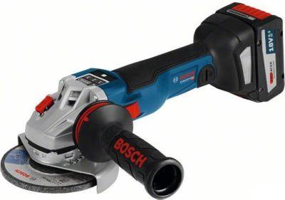 Bosch  Akku-Winkelschleifer 06019G3401 GWS 18V-125 SC 2x6,3 Ah - L-Boxx