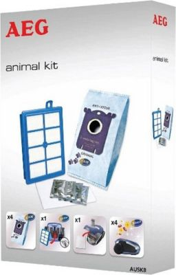 AEG Staubbeutel Animal Kit Vorteil-Set AUSK8