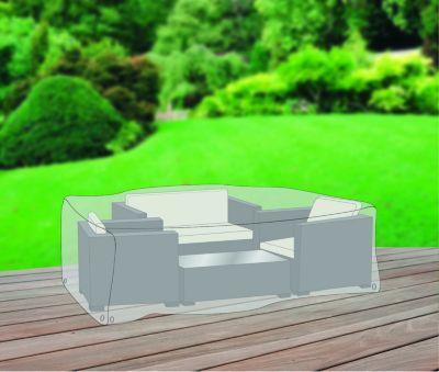 Gardissimo Schutzhülle Premium Plus Leicht´´ für Eck-Lounge´´ | Garten > Gartenmöbel > Schutzhüllen | Grau | Polyester | Gardissimo